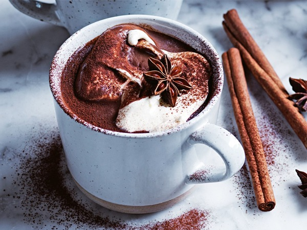 Hot chocolate, also known as hot cocoa or drinking chocolate, is a heated drink