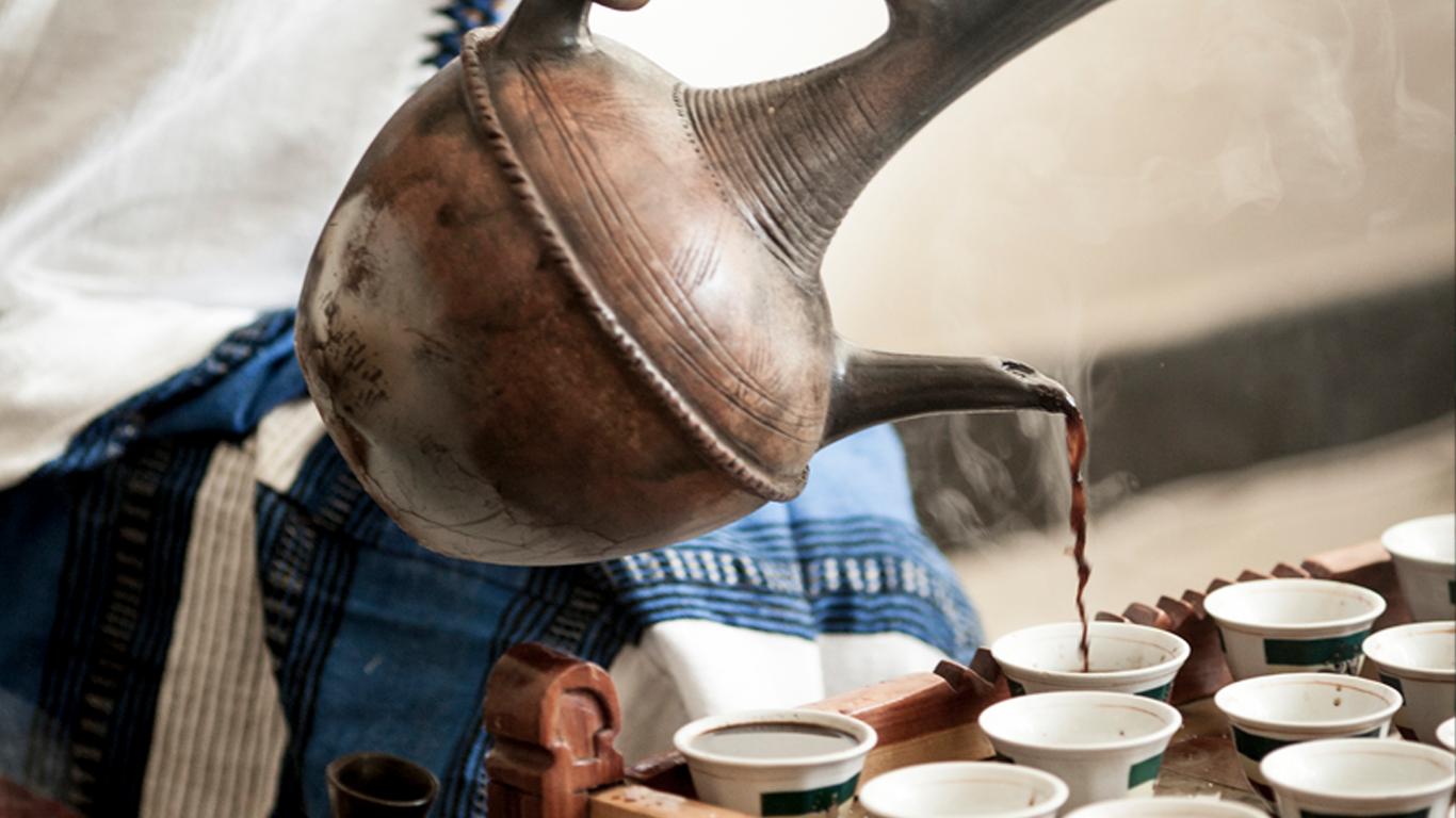 حرکت مناطق کشت قهوه اتیوپی به سمت تپه ها